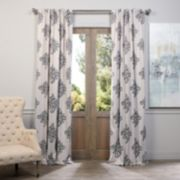 EFF Blackout 1-Panel Tugra Window Curtain