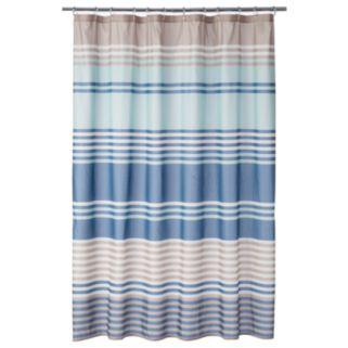 Saturday Knight, Ltd.  Miller Stripe Shower Curtain