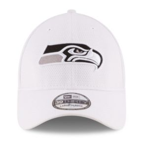 Adult New Era Seattle Seahawks 39THIRTY Tone Tech Redux Fitted Cap