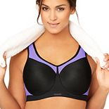 Glamorise Bra: High-Impact Full-Figure Underwire Sports Bra 9066