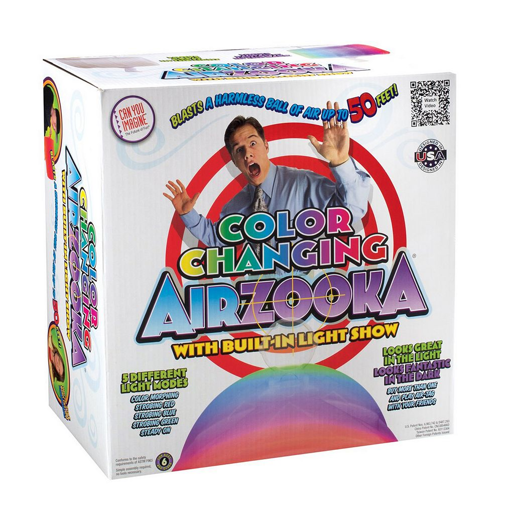Toysmith Can You Imagine Color-Changing Airzooka Air Shooter