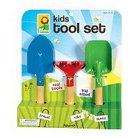 Toysmith 3 pc Kids Garden Hand Tool Set