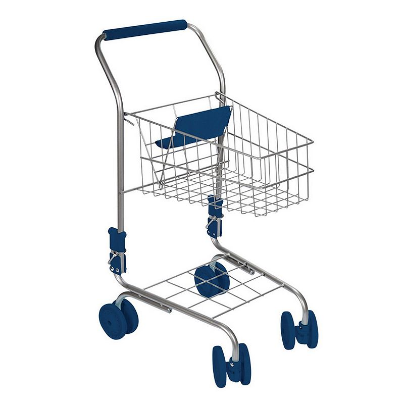 Toysmith Toy Shopping Cart This toy shopping cart from Toysmith is perfect for pretend grocery shopping. Sturdy wheels Durable metal construction Suitable for indoor or outdoor play 33.5 H x 12.15 W x 8.5 D Age: 3 years & up Some assembly required Plastic, metal Wipe clean Imported Model no. 5425  Size: One Size. Color: Multicolor. Gender: unisex. Age Group: kids.