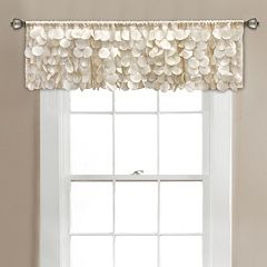 Lush Decor Gigi Window Valance - 70'' x 14''