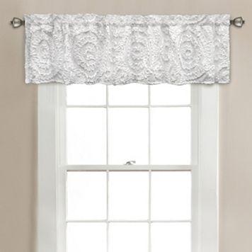 Lush Decor Keila Window Valance - 70'' x 14''