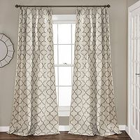 Lush Decor 2-pack Geo TrEllis Curtains - 54'' x 84''