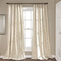 Lush Decor 2-pack Geo TrEllis Window Curtains - 54'' x 84''