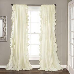 Lush Decor 2-pack Reyna Cascading Window Curtains