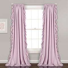 Lush Decor 2-pack Reyna Cascading Window Curtains
