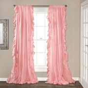 Lush Decor 2-pack Reyna Cascading Window Curtains - 54'' x 84''