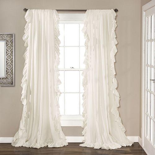 Lush Decor 2-pack Reyna Cascading Window Curtains - 54'' x 84''