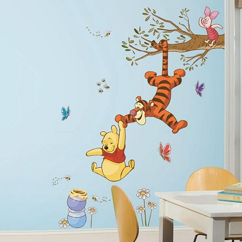 Disney's Winnie the Pooh Honey Peel & Stick Giant Wall Decals