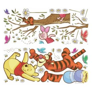 Disney's Winnie the Pooh Honey Peel & Stick Giant Wall Decals