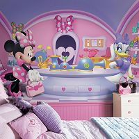 Disney's Minnie Mouse Fashionista Removable Wallpaper Mural