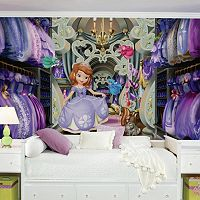 Disney's Sofia the First Closet Removable Wallpaper Mural