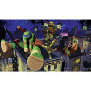 Teenage Mutant Ninja Turtles Cityscape Removable Wallpaper Mural