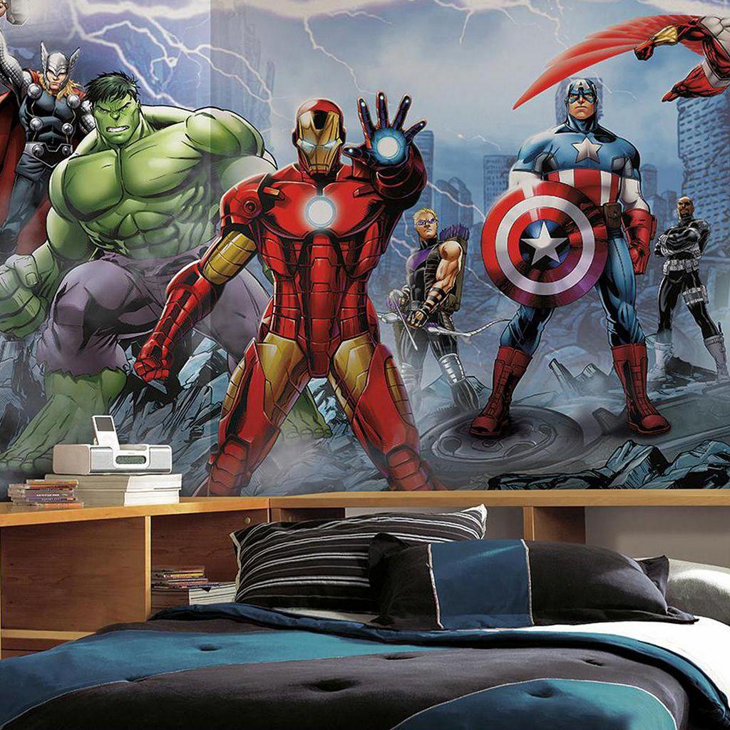 Marvel Avengers Assemble Removable Wallpaper Mural