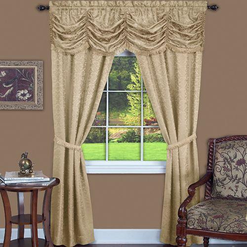 Panache 3-pc. Window Curtain Set