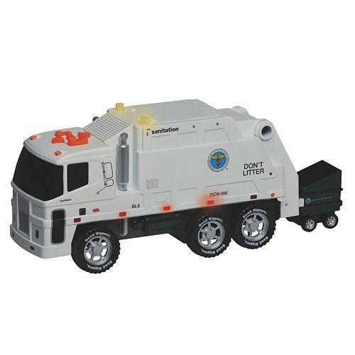 Daron New York City Operating Garbage Truck Set