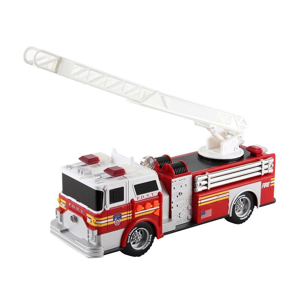 Daron New York City Fire Department Motorized Fire Truck & Ladder