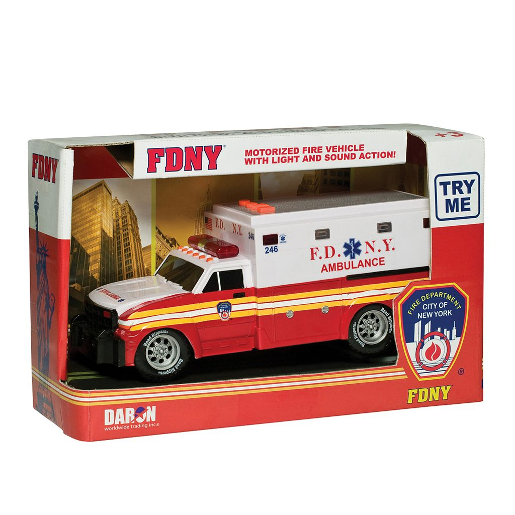 Daron New York City Fire Department Motorized Ambulance