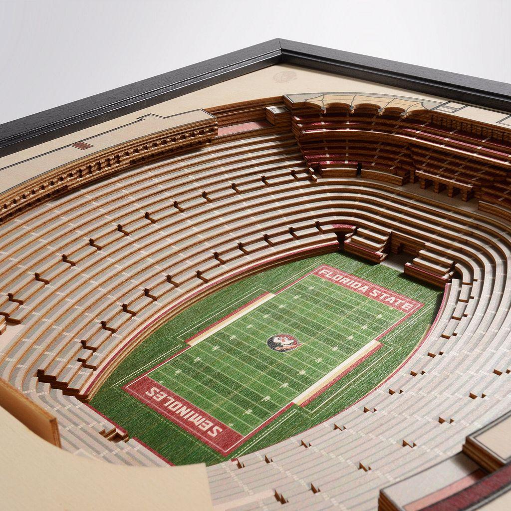 Florida State Seminoles StadiumViews 3D Wall Art