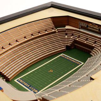 West Virginia Mountaineers StadiumViews 3D Wall Art