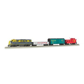 Bachmann HO Scale Blue Lightning Smartphone-Controlled Bluetooth Electric Train Set