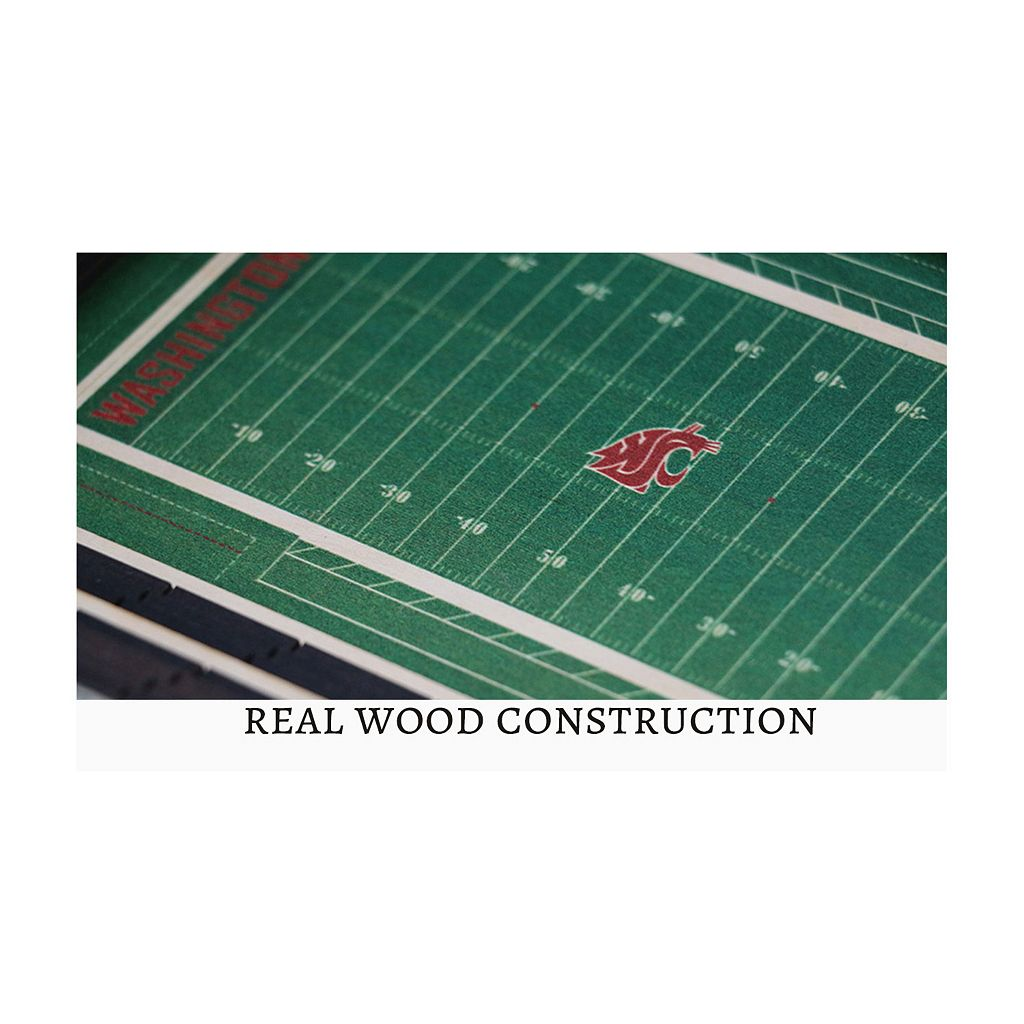 Washington State Cougars StadiumViews 3D Wall Art