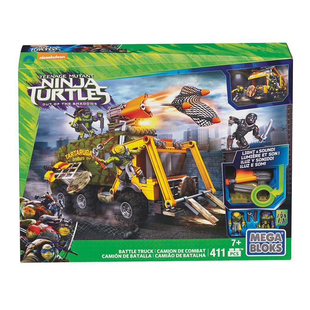 Mega Bloks Teenage Mutant Ninja Turtles Movie Turtle Van