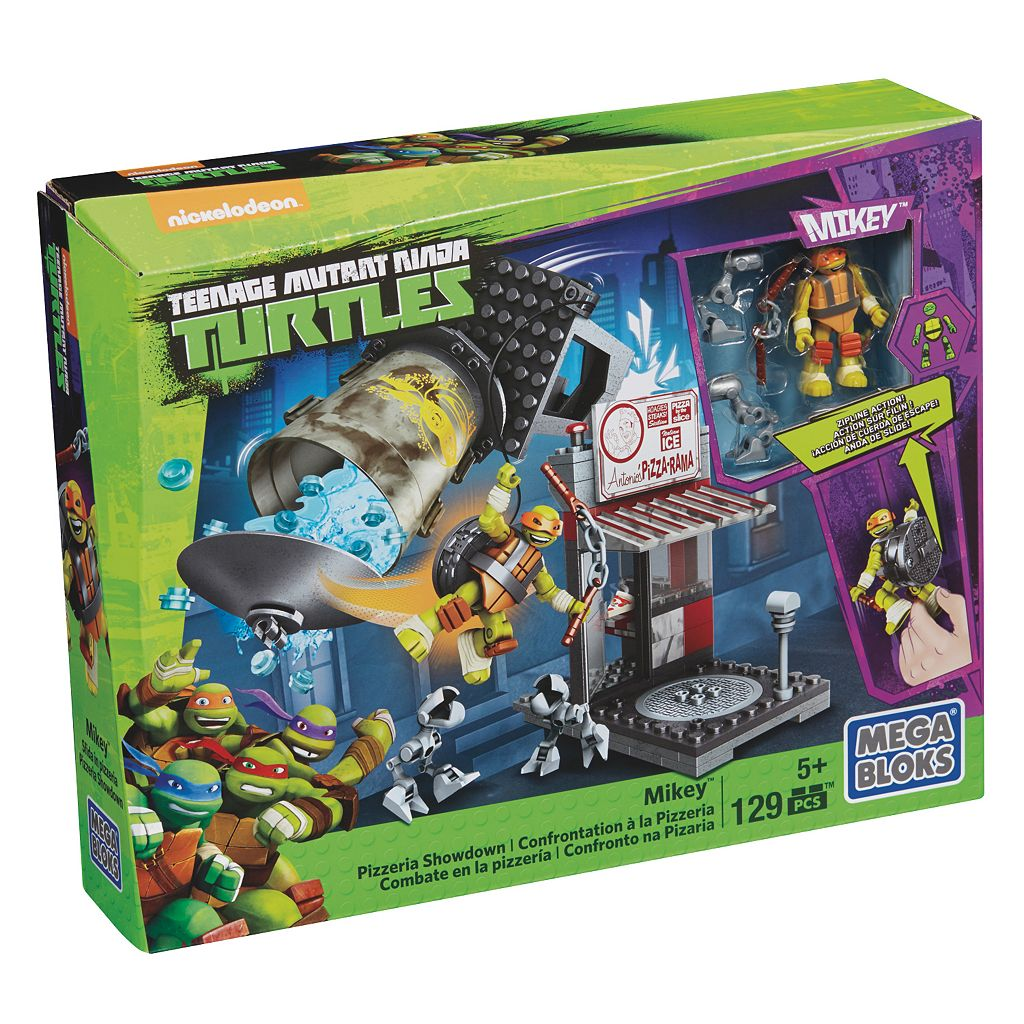 Mega Bloks Teenage Mutant Ninja Turtles Mikey Pizzeria Showdown