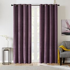 Madison Park Matera Basketweave Chenille Window Curtain