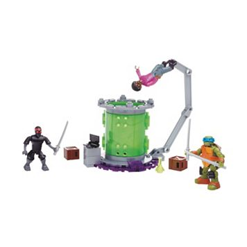 Mega Bloks Teenage Mutant Ninja Turtles Baxter Mutation Lab