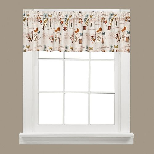 Saturday Knight, Ltd.  Le Jardin Window Valance - 58'' x 13''