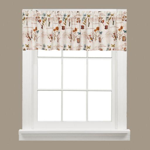 Saturday Knight, Ltd.  Le Jardin Window Valance - 58'' x 13''