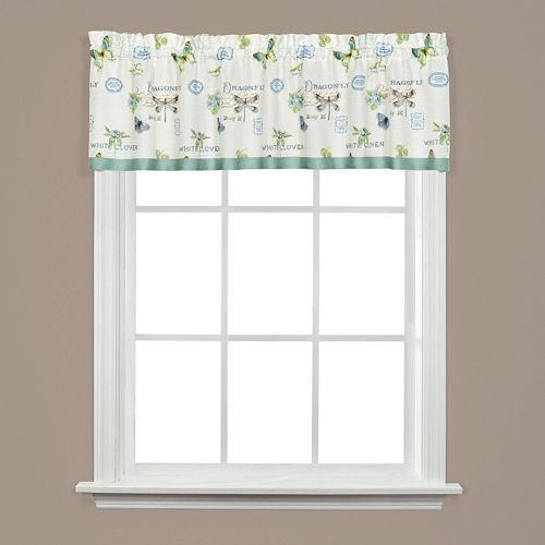 Saturday Knight, Ltd.  Garden Discovery Window Valance - 58'' x 13''