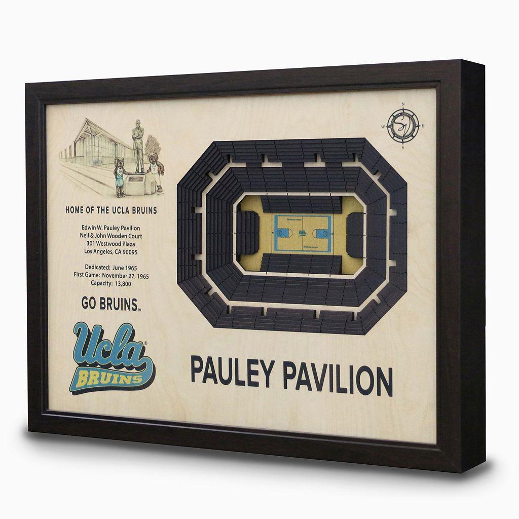 UCLA Bruins StadiumViews 3D Wall Art