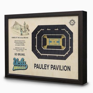 UCLA Bruins StadiumViews 3D Wall Art