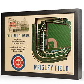 Chicago Cubs StadiumViews 3D Wall Art