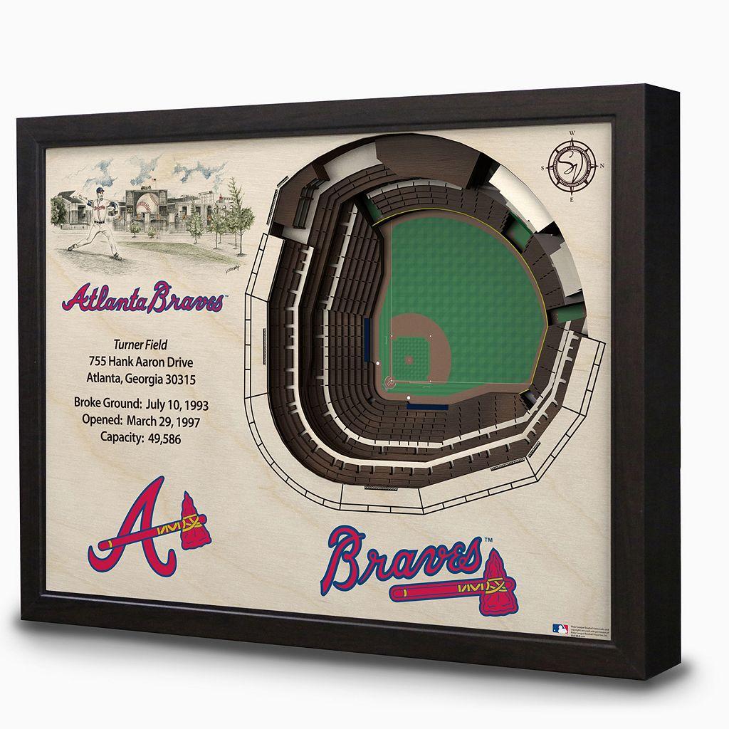 Atlanta Braves StadiumViews 3D Wall Art