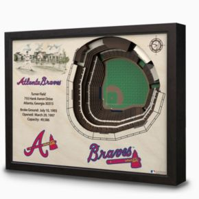 Atlanta Braves StadiumViews 3D Wall Art