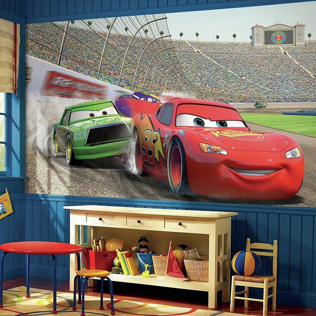 Disney / Pixar Cars Removable Wallpaper Mural
