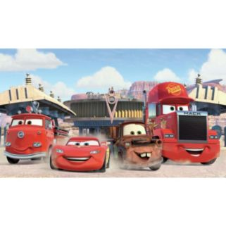 Disney / Pixar Cars Friends to the Finish Removable Wallpaper Mural