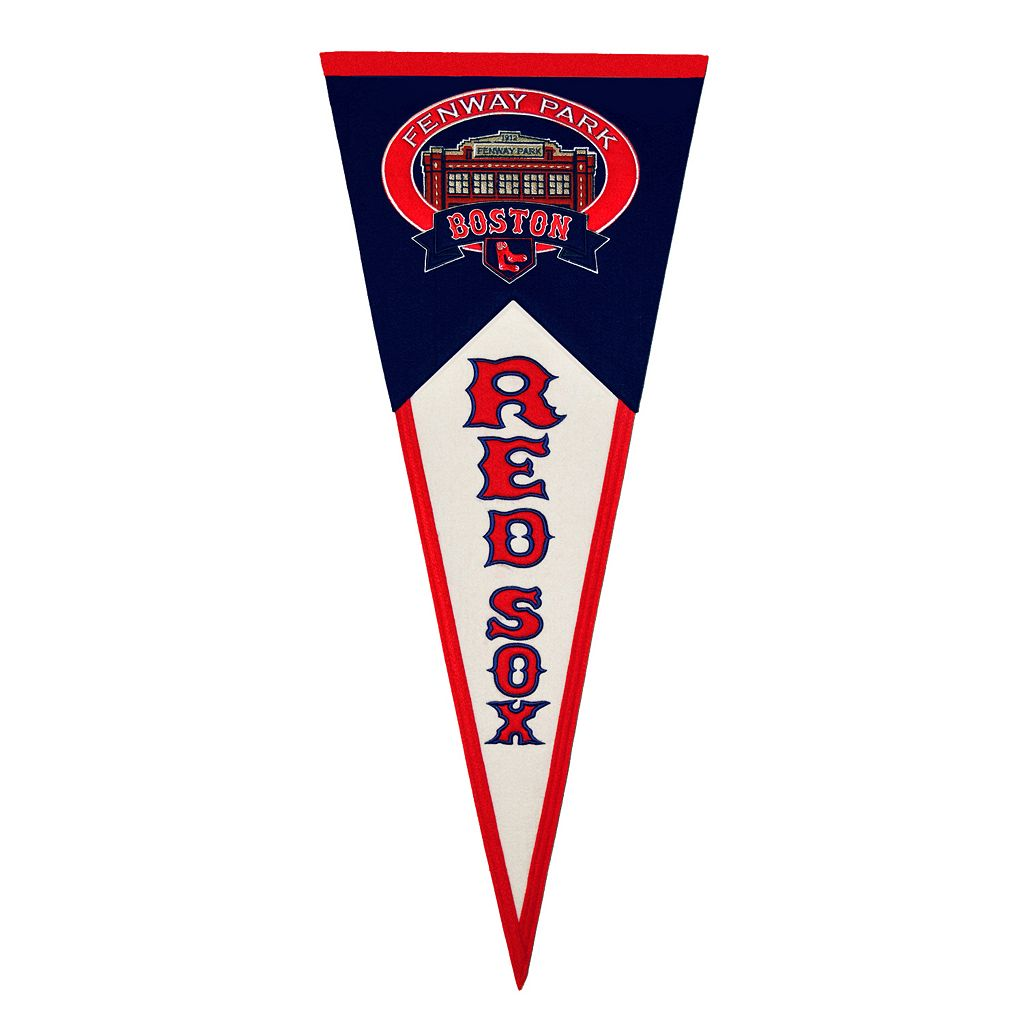 Boston Red Sox Fenway Park Traditions Pennant