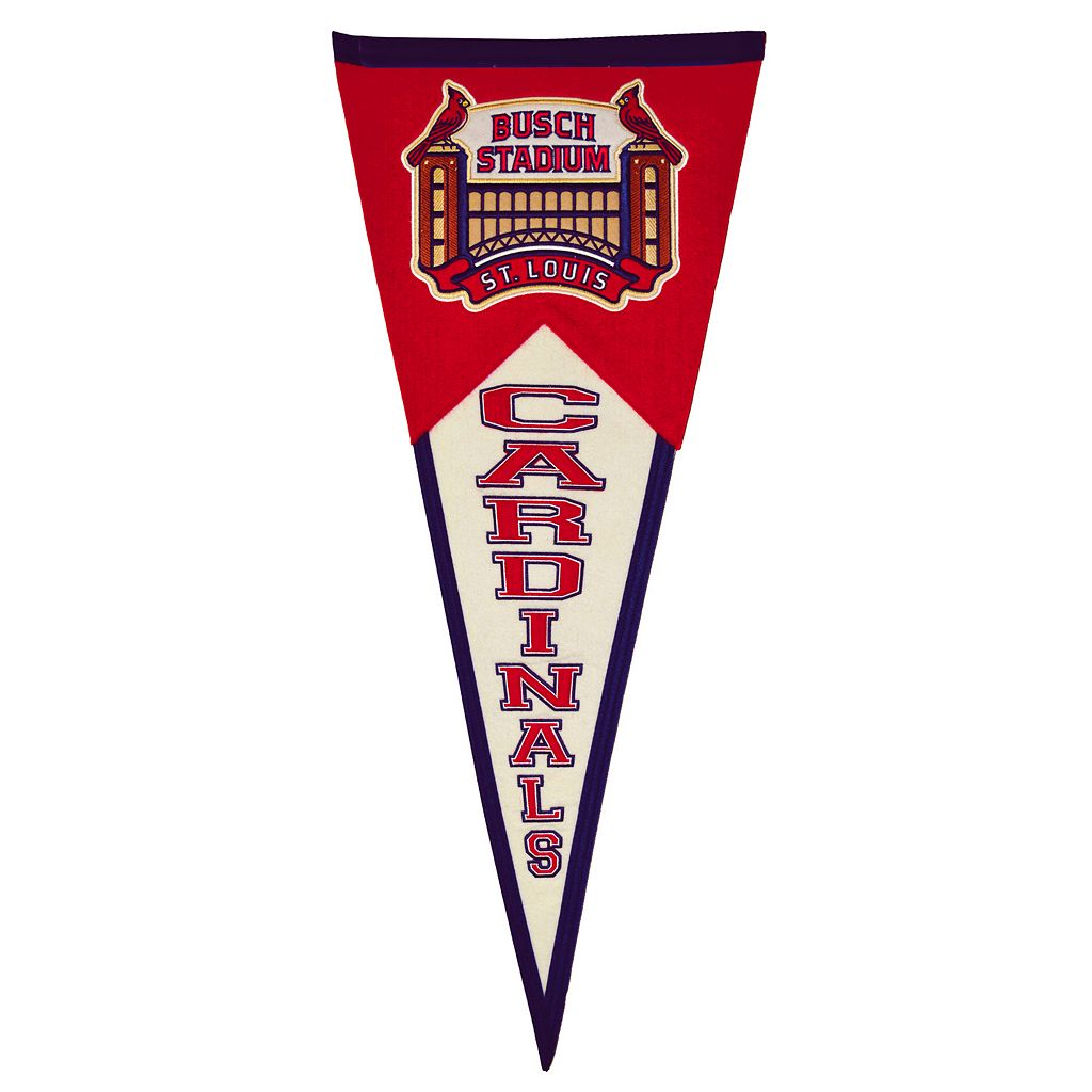 St. Louis Cardinals Busch Stadium Traditions Pennant