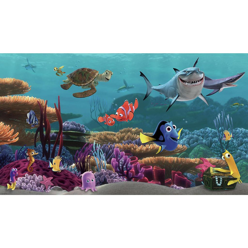 Disney / Pixar Finding Nemo Removable Wallpaper Mural