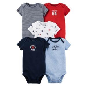 Baby Boy Carter's 5-pk. Sport Bodysuits