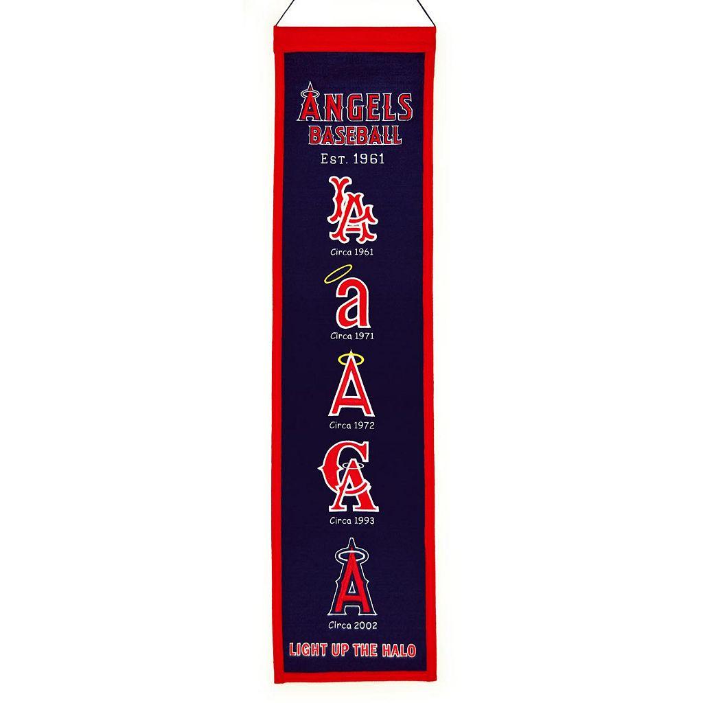 Los Angeles Angels of Anaheim Heritage Banner