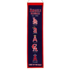 Los Angeles Angels of Anaheim Heritage Banner