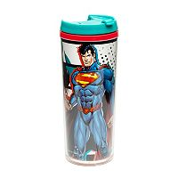 DC Comics Superman Double Wall Travel Mug by Zak Designs